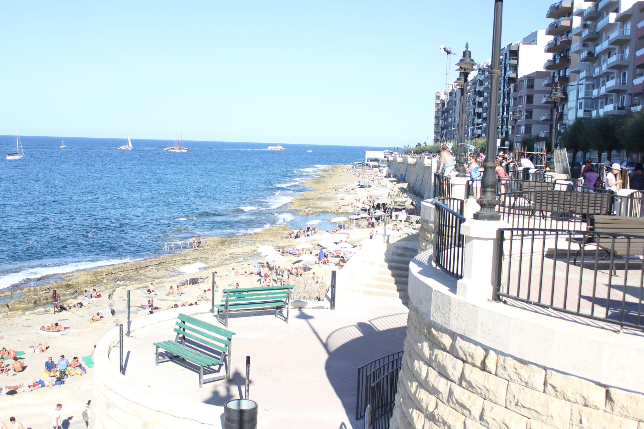 Sliema is one of the favorite thing to do is walk around during your holiday