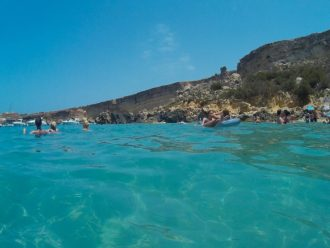 Comino, Blue Lagoon. Amazing color of water
