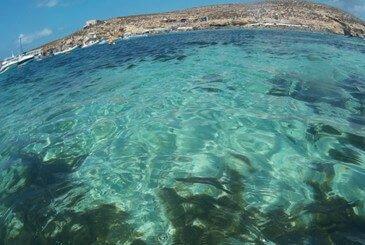 Blue Lagoon, una de las mejores playas en Malta
