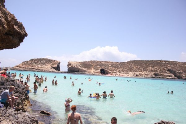 The Blue Lagoon in Comino