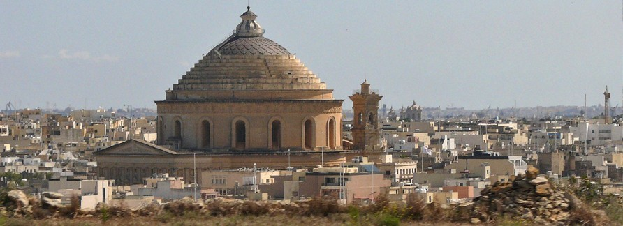 Rotunda of Mosta from afar