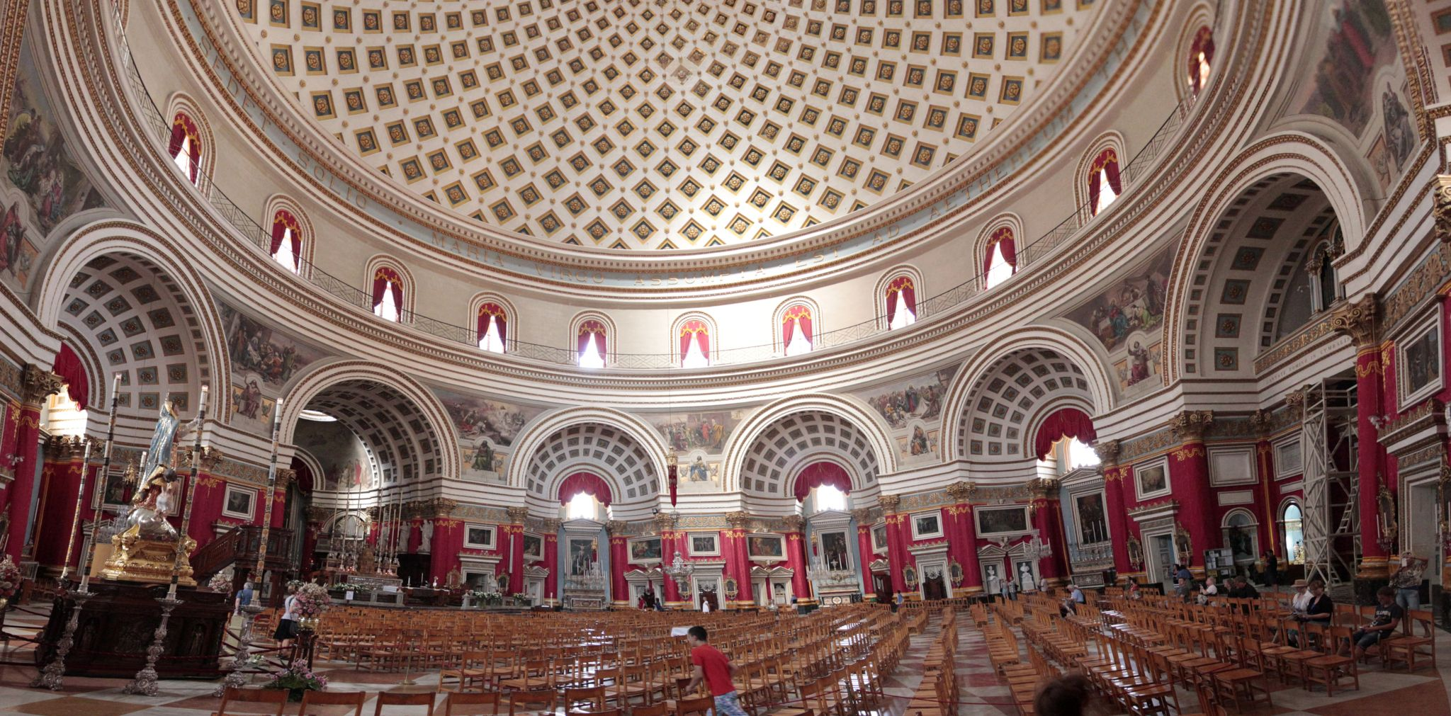 Rotunda of Mosta internal view