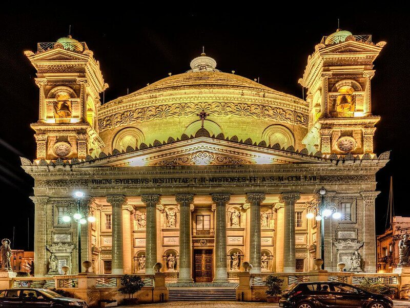 Rotunda of Mosta, Church