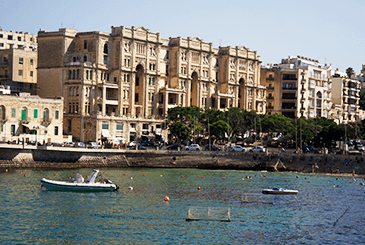 Balluta Bay, St. Julians, Malta